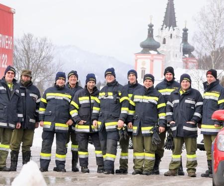 Über 1.000 helfende Hände in Mariazell - Zahlreiche Feuerwehren im Großeinsatz