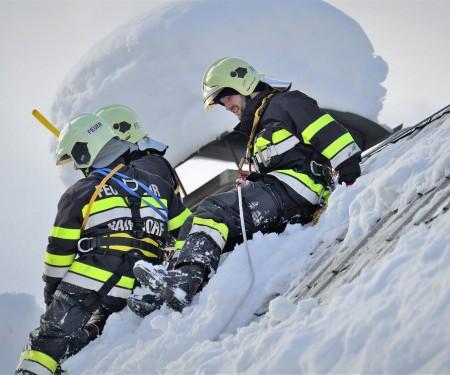 Über 50.000 Einsatz- bzw. Leistungsstunden der steirischen Feuerwehren im Schnee-Einsatz