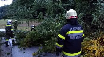 Schwere Unwetter und Sturmböen in der Marktgemeinde Kirchbach-Zerlach