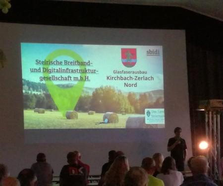 Die Marktgemeinde Kirchbach-Zerlach startet in die schnellere digitale Zukunft